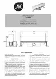 Instrukcja Jano Scienny